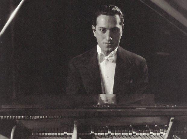 Gershwin at Piano