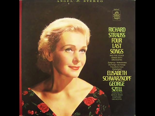 Schwarzkopf Last Songs Strauss