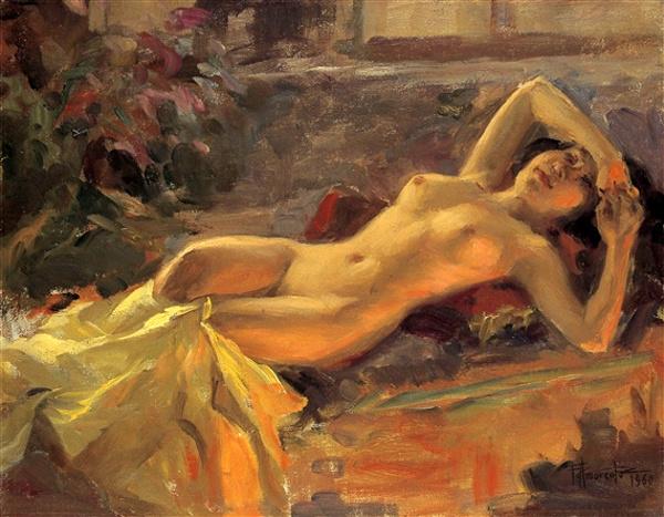 Fernando Amorsolo Nude