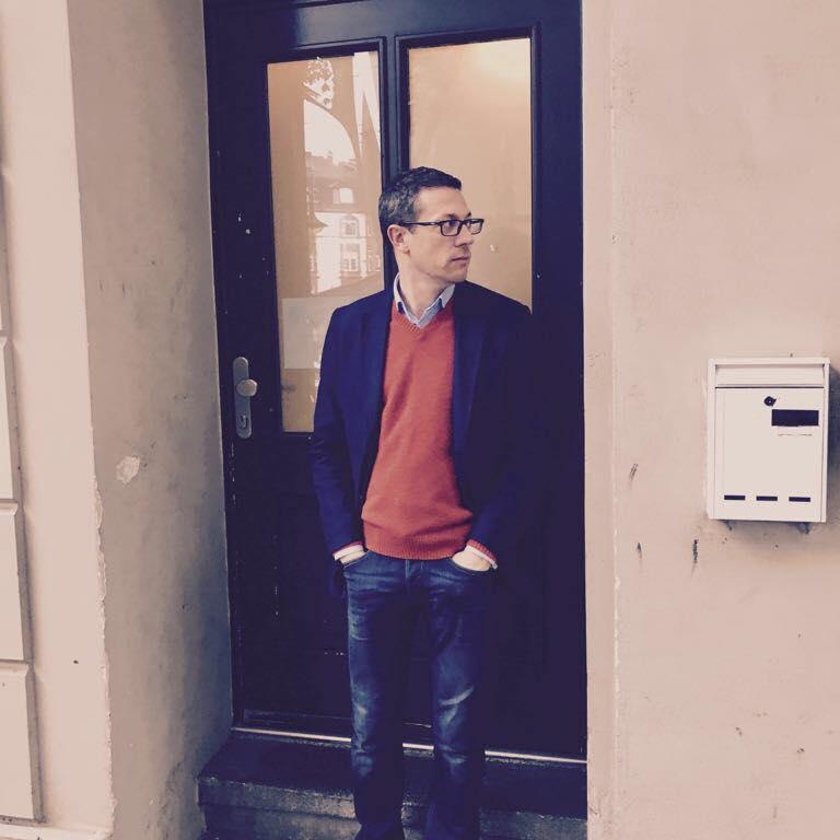 John Wilson at Door
