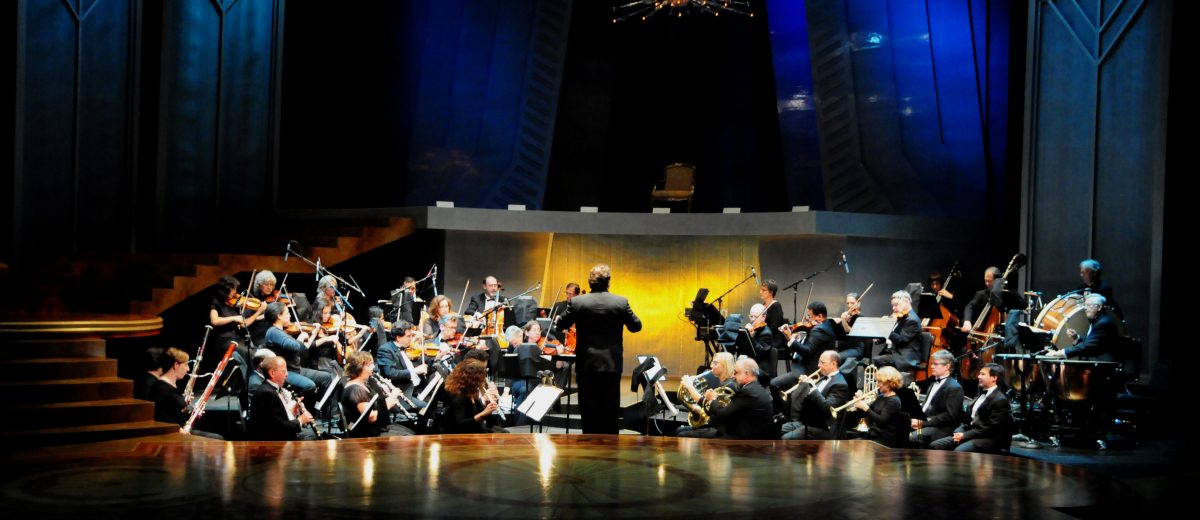 Lucas Richman Conducting Amadeus